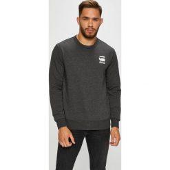 G-Star Raw - Bluza. Czarne bluzy męskie rozpinane marki G-Star RAW, l, z bawełny, bez kaptura. Za 349,90 zł.