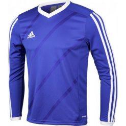 Adidas Koszulka piłkarska męska Tabela 14 Long Sleeve Jersey niebieska r. XXL (F50427). Niebieskie koszulki sportowe męskie marki Adidas, m, z jersey. Za 67,16 zł.