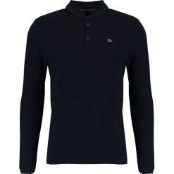 Napapijri DANL Sweter blu marine. Szare kardigany męskie marki Napapijri, l, z materiału, z kapturem. W wyprzedaży za 399,20 zł.
