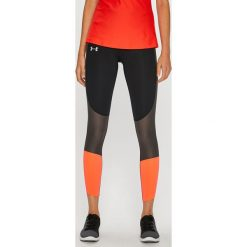 Under Armour - Legginsy Speed Pocket Run Crop. Szare legginsy Under Armour, l, z dzianiny. Za 299,90 zł.