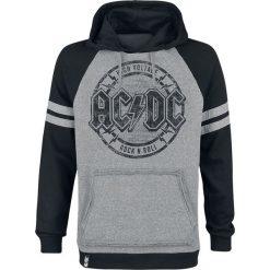 AC/DC EMP Signature Collection Bluza z kapturem jasnoszary melanż/czarna. Czarne bluzy męskie rozpinane AC/DC, m, melanż, z materiału, z kapturem. Za 199,90 zł.