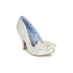 Czółenka Irregular Choice  NICK OF TIME. Białe buty ślubne damskie Irregular Choice. Za 449,00 zł.