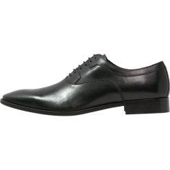 Buty wizytowe męskie: Edwin Wallace MANITOBA Eleganckie buty noir
