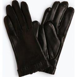 Pearlwood - Skórzane rękawiczki damskie – Ann, czarny. Czarne rękawiczki damskie Pearlwood, ze skóry. Za 349,95 zł.