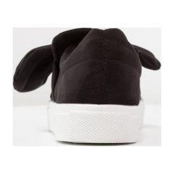 Creepersy damskie: Bianco KNOT Półbuty wsuwane black