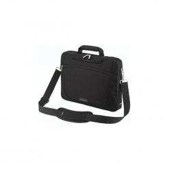 """Sumdex Torba na notebooka 15.6"""" (czarny). Czarne torby na laptopa marki Sumdex, w paski, z materiału. Za 49,15 zł."""