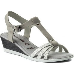 Sandały damskie: Sandały TAMARIS – 1-28218-20 Grey/Silver 296