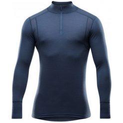 Devold Koszulka Męska Hiking Man Half Zip Neck Night L. Niebieskie odzież termoaktywna męska marki Oakley, na lato, z bawełny, eleganckie. Za 309,00 zł.