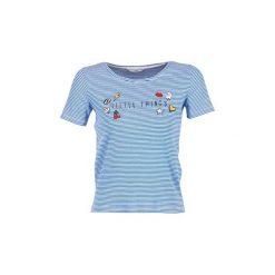 T-shirty z krótkim rękawem Only  KELLIE. Niebieskie t-shirty damskie ONLY, xs. Za 63,20 zł.
