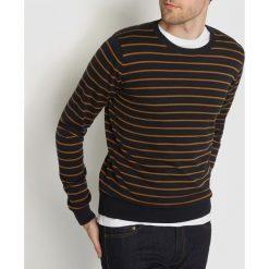 Swetry damskie: Sweter w paski 100% bawełny