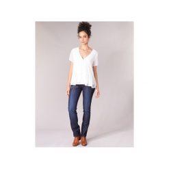 Jeansy straight leg Freeman T.Porter  Amelie SDM. Niebieskie jeansy damskie marki Freeman T. Porter. Za 399,00 zł.