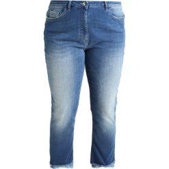 Boyfriendy damskie: Persona by Marina Rinaldi IGNOTO Jeansy Straight Leg mid blue