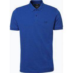 Koszulki polo: BOSS Athleisure – Męska koszulka polo – Piro, niebieski