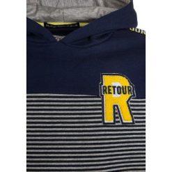 Retour Jeans FLYNN Bluza z kapturem indigo blue. Niebieskie bluzy dziewczęce rozpinane marki Retour Jeans, z bawełny, z kapturem. Za 229,00 zł.
