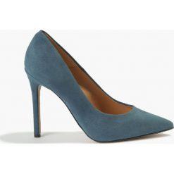 Czółenka Niebieskie Donna. Niebieskie czółenka Badura. Za 223,99 zł.