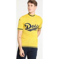 De Marchi TEAM  Sweter yellow. Żółte koszulki sportowe męskie De Marchi, m, z materiału. Za 719,00 zł.