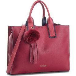 Torebka MONNARI - BAG6150-005 Burgund. Czerwone torebki klasyczne damskie Monnari, ze skóry ekologicznej. W wyprzedaży za 199,00 zł.