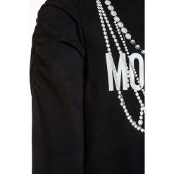 MOSCHINO Bluza nero/black. Czarne bluzy dziewczęce MOSCHINO, z bawełny. Za 539,00 zł.
