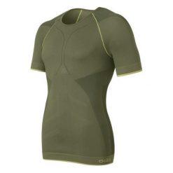Odlo Koszulka męska s/s crew neck Evolution Light Greentec zielona r. L. Szare koszulki sportowe męskie marki Odlo. Za 78,70 zł.