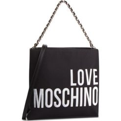 Torebka LOVE MOSCHINO - JC4113PP17LO0000 Nero. Czarne torebki klasyczne damskie marki Love Moschino, z materiału. Za 779,00 zł.
