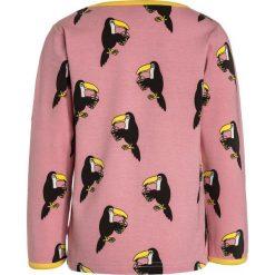 Bluzki dziewczęce bawełniane: Småfolk WITH TOUCAN Bluzka z długim rękawem blush
