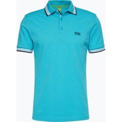 Koszulki polo: BOSS Athleisure – Męska koszulka polo – Paddy, niebieski
