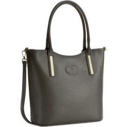 Torebka CREOLE - K10294  Szary. Szare torebki klasyczne damskie Creole, ze skóry. W wyprzedaży za 259,00 zł.