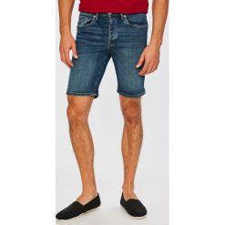 Selected - Szorty. Czerwone spodenki jeansowe męskie marki Cropp. W wyprzedaży za 129,90 zł.