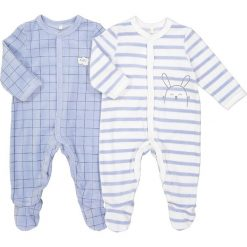 Odzież chłopięca: Piżama w króliczka, zestaw 2 piżam, 0-24 m-ce