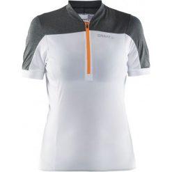 Bluzki sportowe damskie: Craft Koszulka Rowerowa Motion White S
