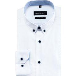 Koszula MICHELE KDBE000433. Białe koszule męskie na spinki marki Reserved, l. Za 259,00 zł.