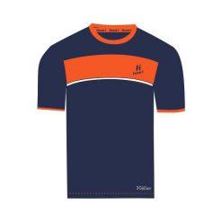 Huari Koszulka męska Qwest T-shirt Medieval Blue/red Orange r. L. Czerwone koszulki sportowe męskie Huari, l. Za 40,03 zł.