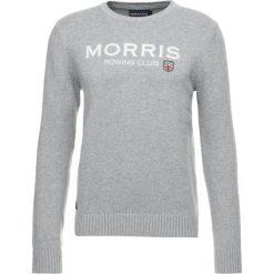 Kardigany męskie: Morris GEORGE ONECK Sweter grey