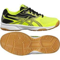 Asics Buty dziecięce Upcourt 2 GS żółto-czarne r. 38 (C734Y 0795). Czarne buty sportowe chłopięce marki Asics. Za 169,09 zł.