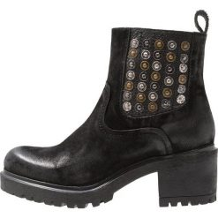Lazamani Ankle boot black. Czarne botki damskie skórzane marki Lazamani. Za 549,00 zł.