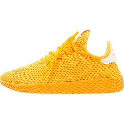 Adidas Originals PW TENNIS HU J Tenisówki i Trampki  collegiate gold/footwear white. Żółte tenisówki męskie adidas Originals, z materiału. W wyprzedaży za 263,20 zł.