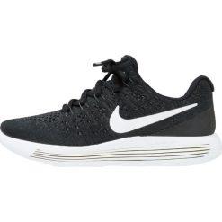 Buty sportowe chłopięce: Nike Performance LUNAREPIC LOW FLYKNIT 2 GS Obuwie do biegania treningowe black/white/lava glow
