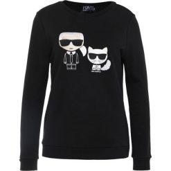 Bluzy damskie: KARL LAGERFELD KARL & CHOUPETTE IKONIK SWEAT Bluza black