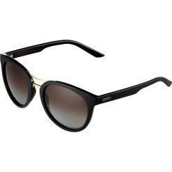 Okulary przeciwsłoneczne damskie aviatory: Smith Optics BRIDGETOWN Okulary przeciwsłoneczne gloss black/brown