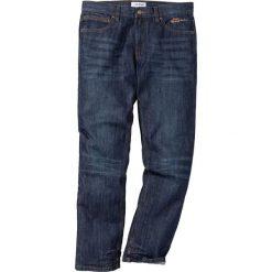 Jeansy męskie regular: Dżinsy Regular Fit Straight bonprix ciemnoniebieski