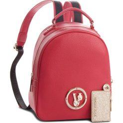 Plecak VERSACE JEANS - E1VSBBV3 70790 500. Czerwone plecaki damskie Versace Jeans, z jeansu, eleganckie. Za 729,00 zł.