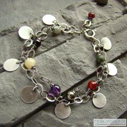Bransoletki damskie na nogę: Multicolour - bransoletka