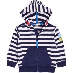 Bluzy niemowlęce: Bluza rozpinana z kapturem dla chłopca 6-36 m-cy