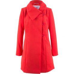 Płaszcze damskie: Płaszcz bonprix truskawkowy