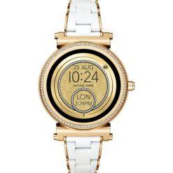 Biżuteria i zegarki damskie: Michael Kors Access SOFIE Zegarek goldcoloured/white