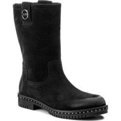 Botki CARINII - B4210 H20-000-FBR-C50. Czarne buty zimowe damskie Carinii, z polaru, na obcasie. W wyprzedaży za 239,00 zł.