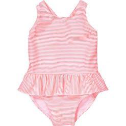 Stroje jednoczęściowe dziewczęce: Kostium kąpielowy jednoczęściowy z falbanami 3 miesiące – 3 lata