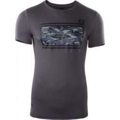 IQ Koszulka męska EDOL Forget Iron r. XL. Szare koszulki sportowe męskie marki IQ, l. Za 69,40 zł.