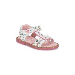 Sandały Dziecko  Agatha Ruiz de la Prada  MISS PONZA. Szare sandały dziewczęce marki Agatha Ruiz de la Prada. Za 239,20 zł.