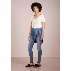 7 for all mankind CROP UNROLLED Jeans Skinny Fit nostalgia. Niebieskie boyfriendy damskie 7 for all mankind, z bawełny. Za 969,00 zł.